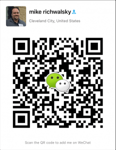 A QR Code generated by WeChat
